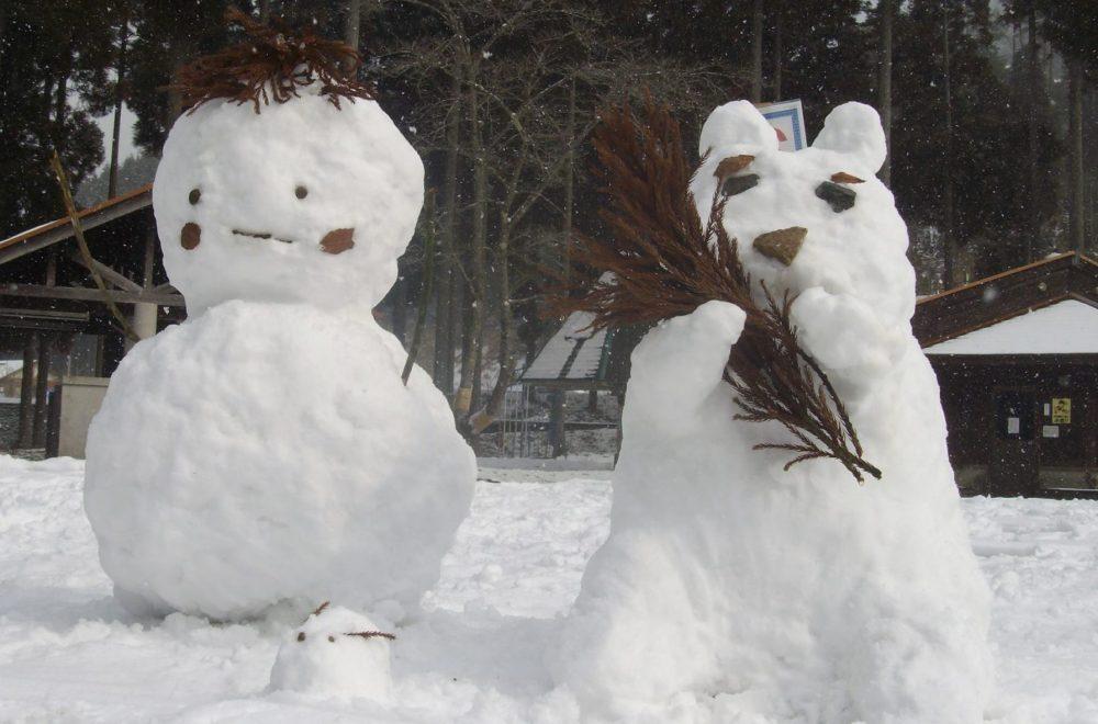 雪だるまフェスタ|新田ふるさと村
