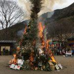 神崎郡(神河町・市川町・福崎町)各地でとんど祭りが開催