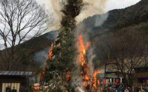 グリーンエコー笠形|とんど祭り | 1月13日