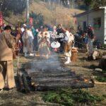 (ねこレポ)福崎町 應聖寺「節分採燈大護摩鬼舞法要」で火渡りしてきた。