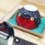福崎町 ケーキ屋「レ・ボ・プロバンス」に妖怪ケーキ第2弾?(写真は第1弾ガジロウ)