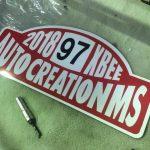 クロスビー オリジナルプレート!Auto Creation M's