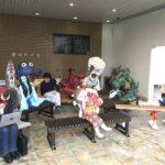 福崎町内で新妖怪ベンチのお披露目&設置(~20日)。
