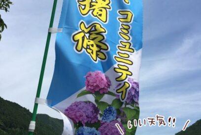 紫陽花(あじさい)スポット 神河町猪篠に行ってきた。