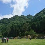 第2回グリーンエコー笠形グランドゴルフ大会開催中。