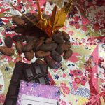 京友禅和紙と折り鶴とチョコレートで父の日ギフト | むのじじょう