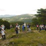 山の日に『おおかわち高原ハイキング』が開催されました。