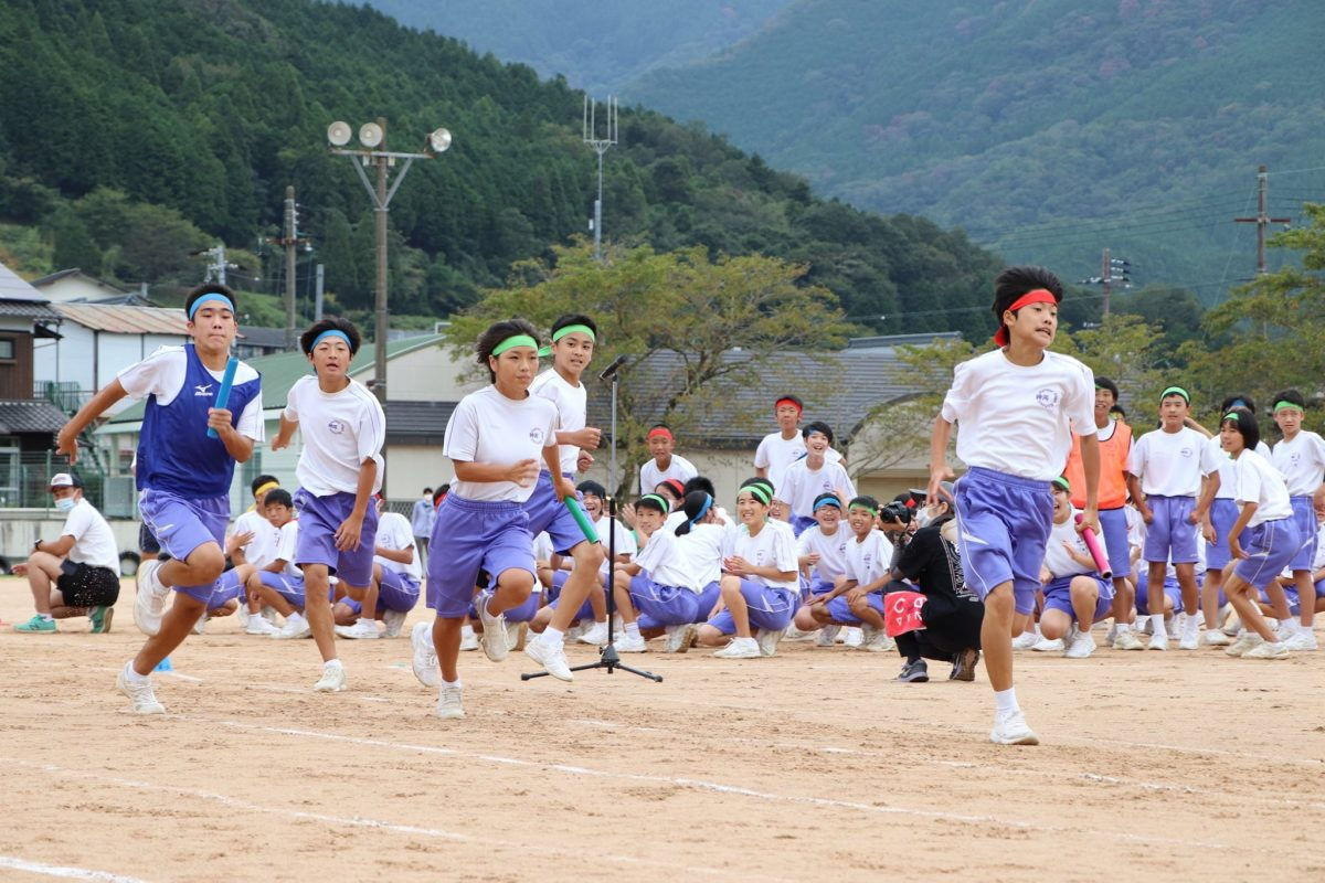 神河中学校体育大会