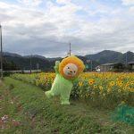 ひまりんがひまわり畑へお散歩 | 市川町