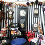 市川町文化センターでハロウィン飾りつけ。