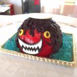 ガジロウのケーキが今だけのハロウィンバージョン