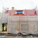 めっちゃ綺麗な赤い屋根になりました。   にゅうにゅう工房