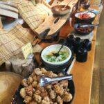 神崎農村公園ヨーデルの森 | エーデルワイスで農村バイキング。園内の新鮮な野菜や猪篠米で満足。