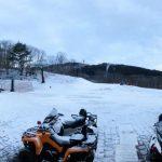 本日も雪不足のためクローズ致します | 峰山高原リゾートホワイトピーク