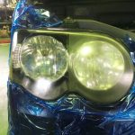 ヘッドライトがぴかぴか。ヘッドライトスチーマーってどんなかんじ?| 有限会社マツモト自動車