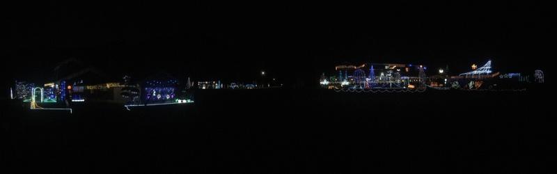 神河町宮野|冬の夜に浮かび上る光の遊園地「ミヤナリエ」