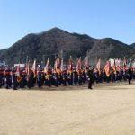 (開催されました)平成31年 市川町消防団出初式