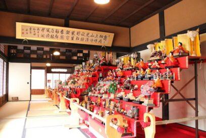 【福崎町】三木家住宅で「わが家の雛人形展」3月21日(日)まで