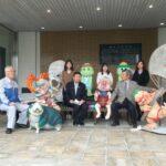 福崎町に新たな妖怪がやってきた。|新・妖怪ベンチ5基+1がお披露目。