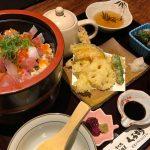 二度美味しい海鮮丼と天ぷらのランチ|食べ処くろすけ