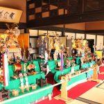 大庄屋三木家で「五月人形展」開催中
