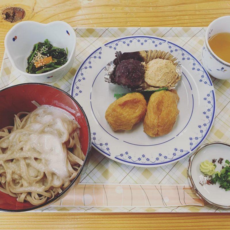 ふれあいレストランで自然薯蕎麦御膳|神河町長谷