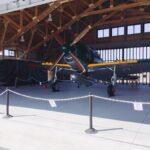 紫電改の実物大模型がお披露目|鶉野飛行場跡