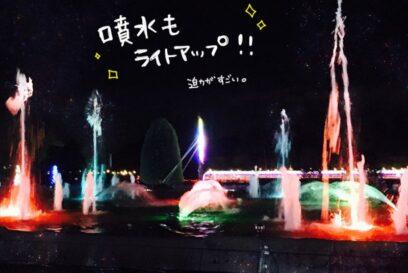 サマーイルミネーション 2019 兵庫県立フラワーセンター