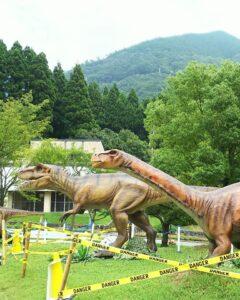 恐竜ふれあい広場 2020 神崎農村公園ヨーデルの森