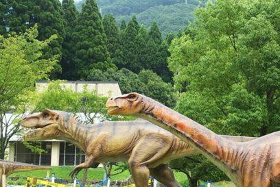 恐竜ふれあい広場 2020もヤツらがやってくる!|神崎農村公園ヨーデルの森