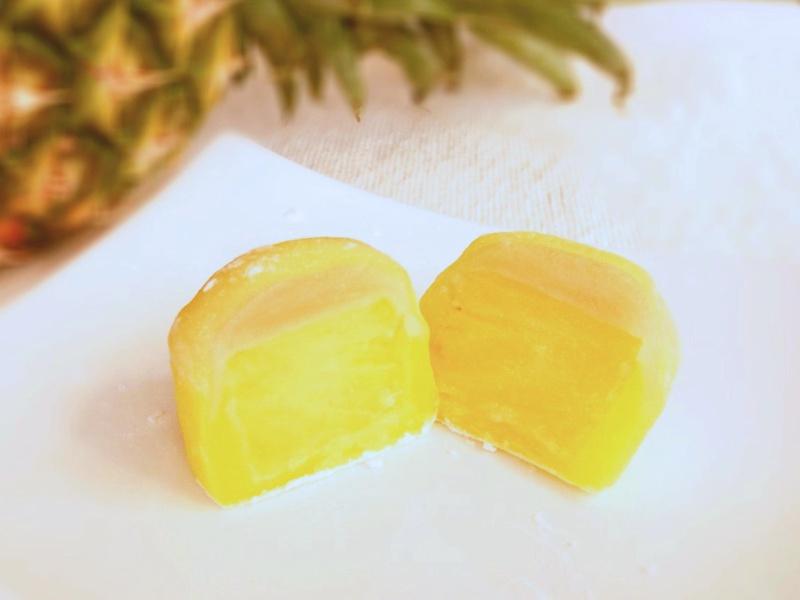 黄金(クガニ)パインの大福