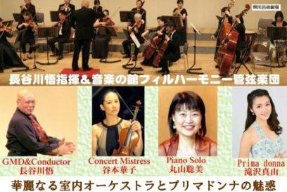 華麗なる室内オーケストラとプリマドンナの魅惑(県民芸術劇場)|グリンデルホール