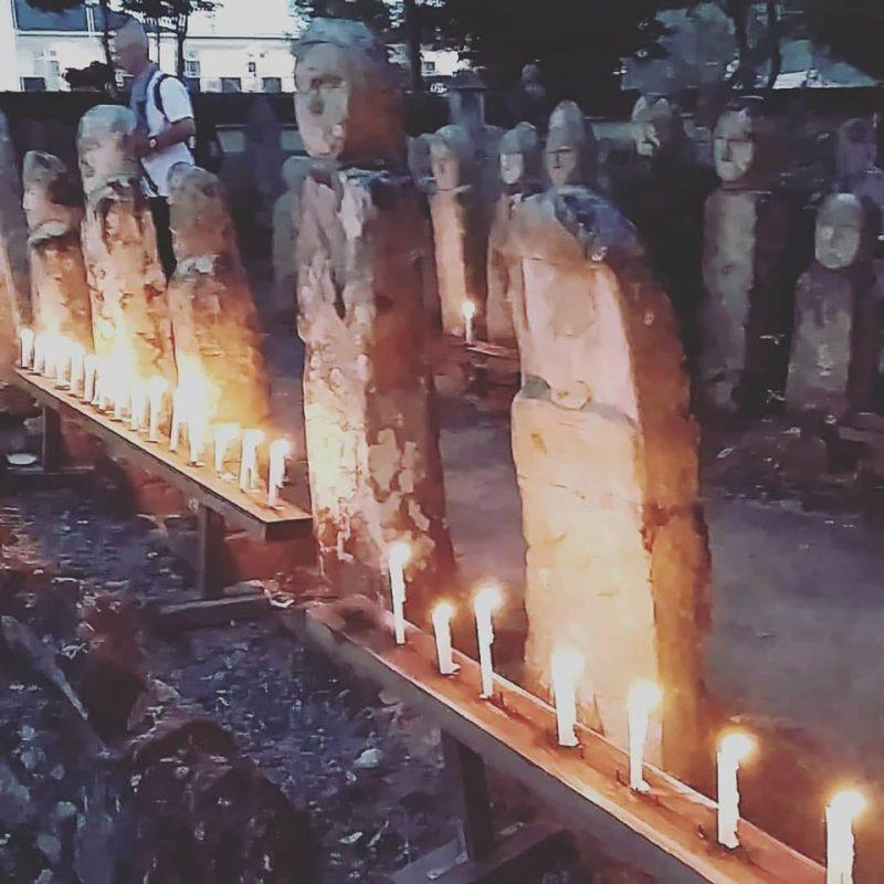 (開催されました)五百羅漢の千灯会 加西市
