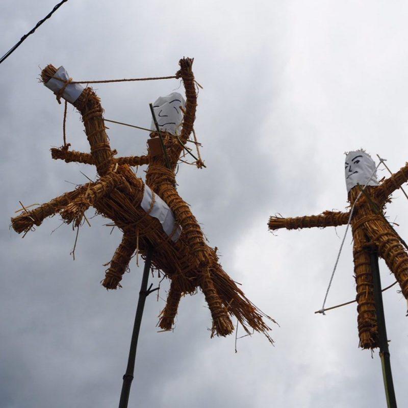 (開催されました)神河町長谷赤田区の虫送り