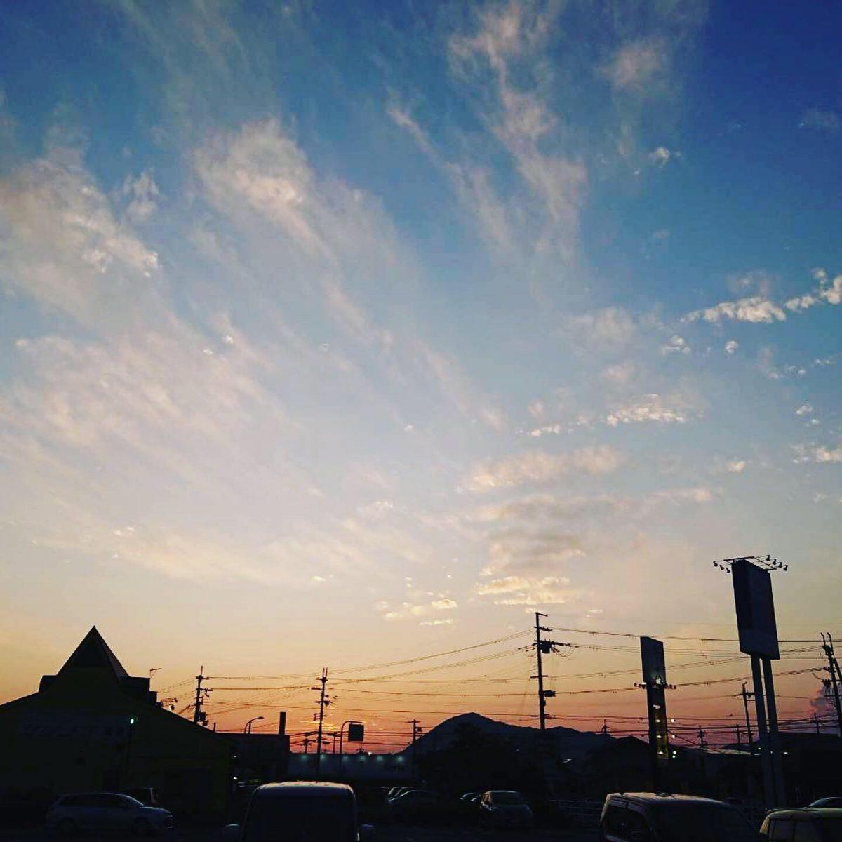 福崎町夕焼け