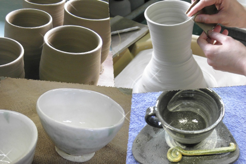 初めての方の「1日陶芸体験教室」