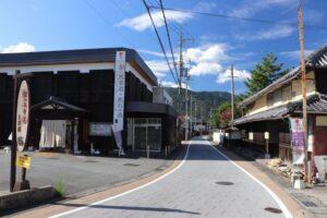 より魅力ある景観に。美装化工事が完了 神河町中村・粟賀町歴史的景観形成地区