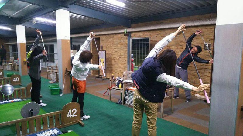 第1回ゴルフレッスン 藤本誠也プロ監修 ゴルフ体操