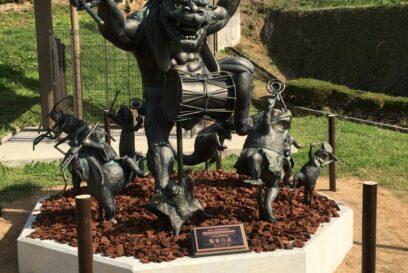 第5回全国妖怪造形コンテスト最優秀作品「輪廻の森」