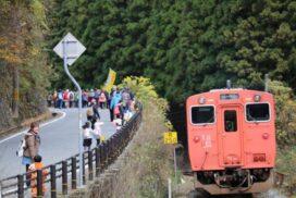 第6回紅葉ウォーキング&長谷駅フォトコンテスト|神河町長谷