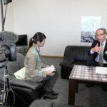 中京テレビ「Newsキャッチ」で多可町「一日ひと褒め条例」が放送