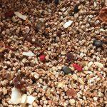 11月24日の繁盛の秋穫祭で販売|「いろいろ米」で、グラノーラ
