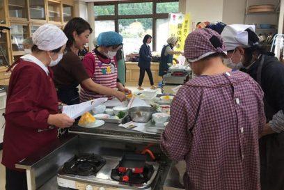 (開催されました)銀馬車かぼちゃ料理教室 大河内保健福祉センター 神河町