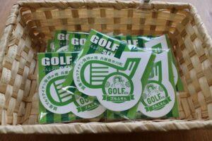 国産アイアンゴルフクラブ発祥の地、市川町に新たなお土産|ゴルふせん(付箋)