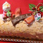 今年は4種のクリスマスケーキを販売。第一弾はブッシュ・ド・ノエル|Pizzeria da FIORE