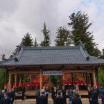 春日神社にて竣工式が開催|神河町吉富