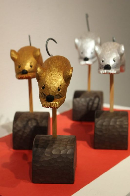 アート2020干支展「子」開催中 あさご芸術の森美術館