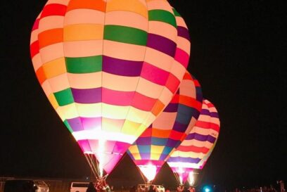 (開催されました)ハッピーバルーンクリスマス 鶉野飛行場跡 加西市