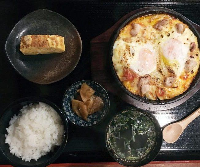 日本一たまごと淡路玉葱のチーズ焼