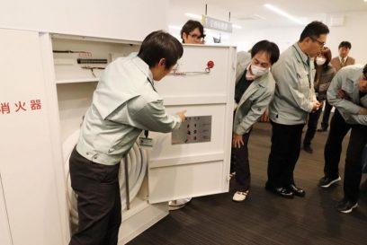 阪神淡路大震災から25年|多可町役場では地震・火災を想定した消防訓練